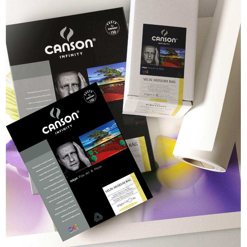 Canson Arches Velin Museum Rag Photo Paper 250gsm 25 sheets A4