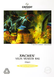 Canson Infinity Arches Velin Museum Rag Fine Art Photo Paper 250 gsm