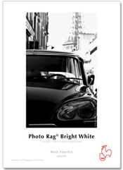Hahnemuhle Matt Fine Art Smooth Paper PHOTO RAG BRIGHT WHITE 310gsm 25 sheets A2