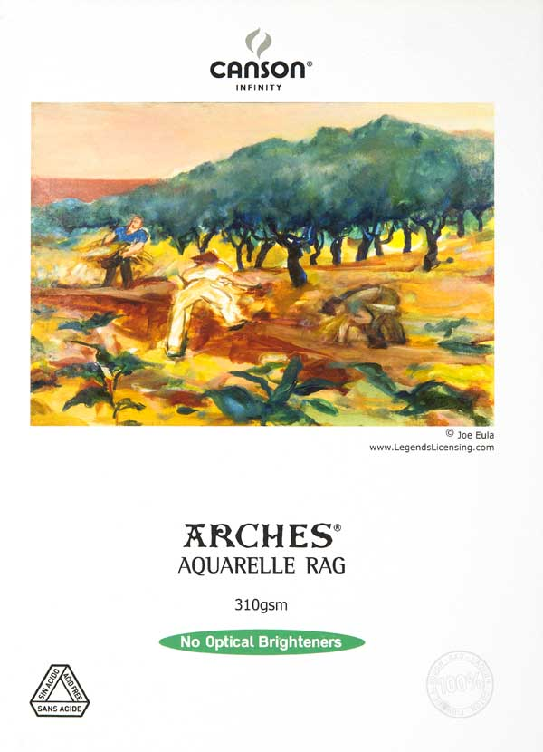 Canson Arches Aquarelle Rag Photo Paper 310gsm 88.9x118.8cm 25sh