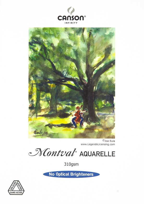 Canson Infinity Montval Aquarelle Photo Paper 310gsm 25 sheets A3+ Discontinued