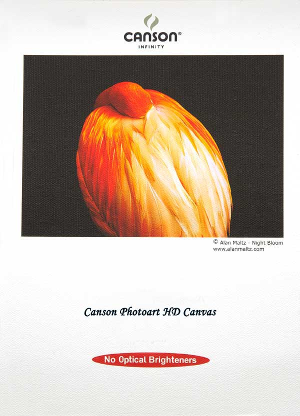 CLEARANCE - DISCONTINUED: Canson Photoart HD Canvas 400gsm 25 sheets A3
