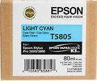 Epson Stylus Pro 3880 / 3800 80ml Light Cyan ink cartridge C13T580500