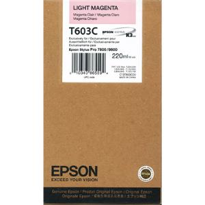 Epson Stylus Pro 7880/ 9880 220ml Vivid Light Magenta ink cartridge