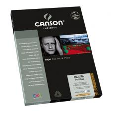 CANSON INFINITY BARYTA PRESTIGE 340GSM - BARYTA GLOSS A2 25 Sheets