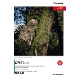 NEW FotoSpeed Platinum Gloss ArtFibre 300gsm A4
