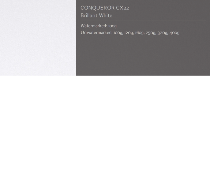 CLEARANCE: Conqueror Smooth/Satin CX22 ENVELOPES Super Seal DL BRIL WHITE DL 110mm x 220mm 300 envelopes