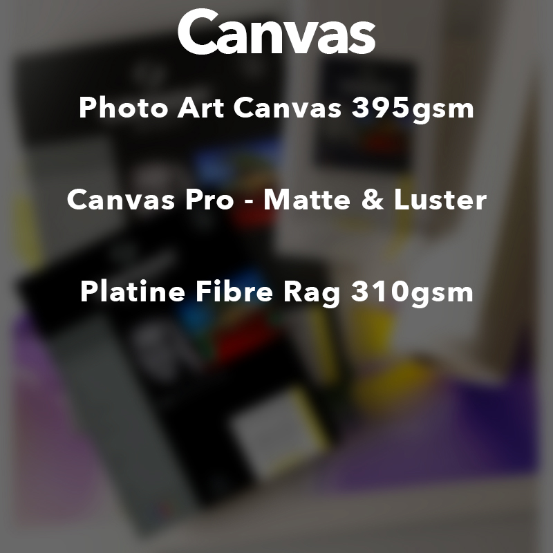Canson Infinity Canvas Media
