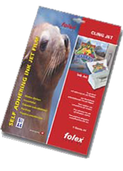 Folex 'CLING' Film (Inkjet) - 5 x A4 sheets per pack