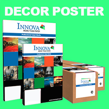 INNOVA DECOR POSTER Smooth Fine Art Inkjet Photo Papers
