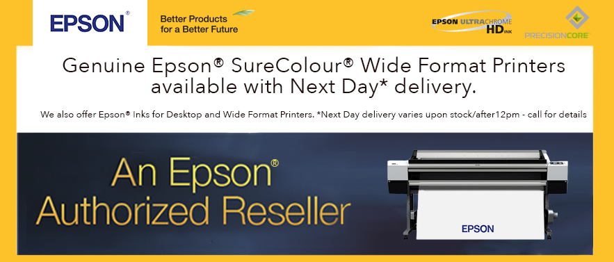 Epson Medium and Wide Format Printers