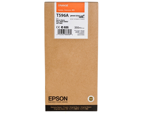 Epson Stylus Pro 7700/ 7890/ 7900/ WT7900/ 9700/ 9890/ 9900 K3 HDR Orange 700ml ink cartridge