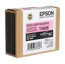 Epson Stylus Pro 3800 80ml Light Magenta ink cartridge C13T580600