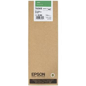 Epson Stylus Pro 7700/ 7890/ 7900/ WT7900/ 9700/ 9890/ 9900 K3 HDR Green 700ml ink cartridge