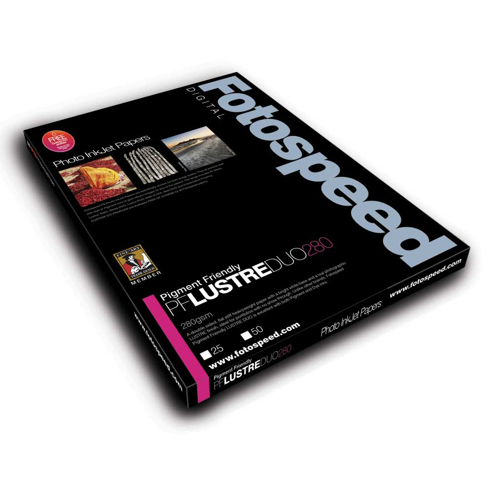 Fotospeed Digital Inkjet Photo Paper PF Lustre DUO - 280gsm A4 25 sheets