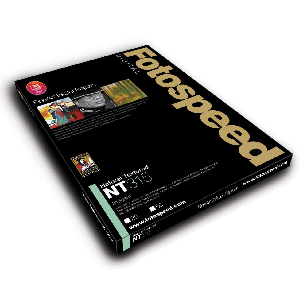 Fotospeed EG Digital Fine Art Inkjet Paper: EG Natural Textured - 315gsm