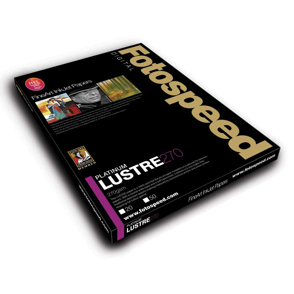 Fotospeed Digital Fine Art Inkjet Paper PLATINUM Lustre - 270gsm A4 20sheets