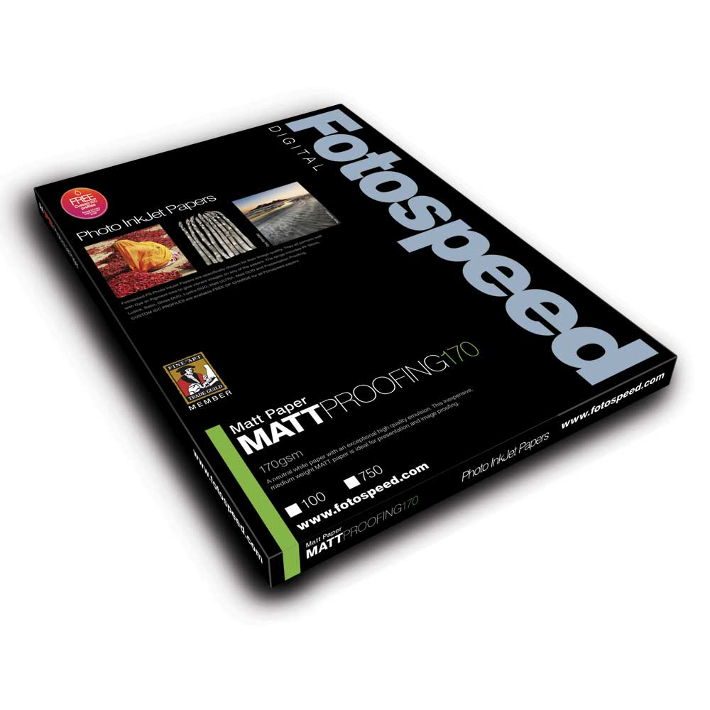 Fotospeed Digital Inkjet Photo Paper Proofing Paper Matt - 170gsm A4 100sheets