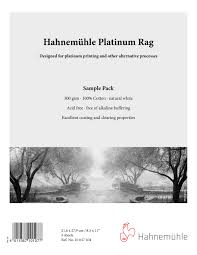 Hahnemuhle Alternative Process Papers