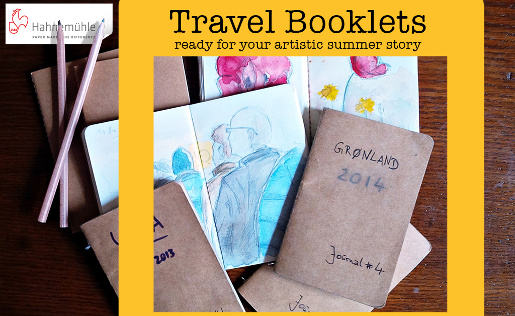 Hahnemuhle Travel Booklets and Journals (NEW)
