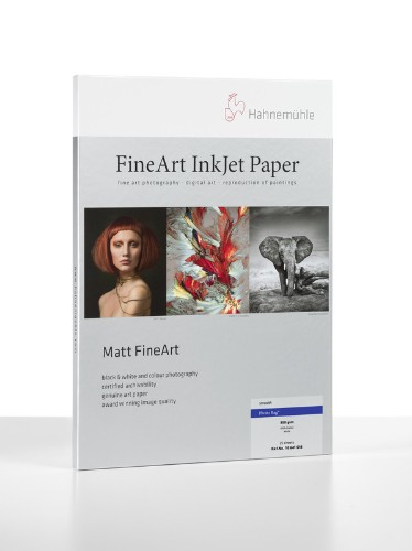Hahnemuhle Matt Fine Art Smooth Paper PHOTO RAG 188gsm 25 sheets A3