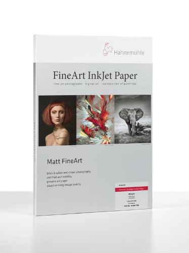 Hahnemuhle Matt Fine Art Texture Paper MUSEUM ETCHING 350g DECKLE EDGED A2 25 sheets - LEAD TIME 1 WEEK