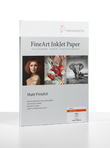Hahnemuhle Matt Fine Art Texture Paper WILLIAM TURNER 310gsm 25 sheets A2 BROWN BOX