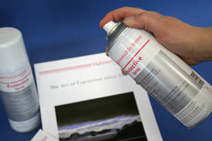PROTECTIVE SPRAY - For Fine Art papers and canvas