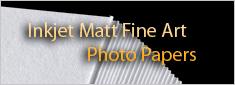 Matt Fine Art Giclee Inkjet Paper