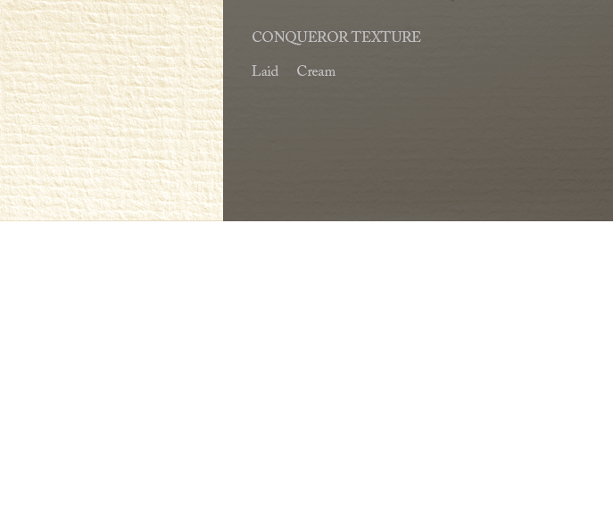 Conqueror Letterhead Paper Texture LAID PAPER 100 gsm A4 2000 sheets Cream (Unwatermarked)