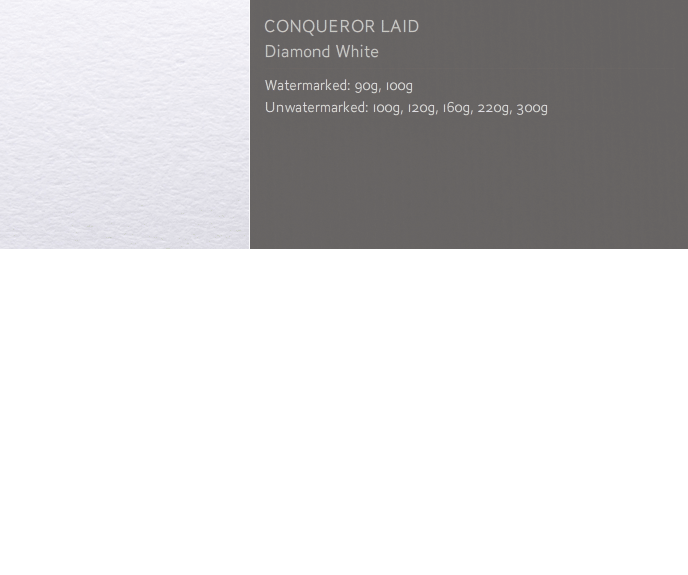 Conqueror Letterhead Paper Texture LAID PAPER 120 gsm A4 2250 sheets Diamond White NW