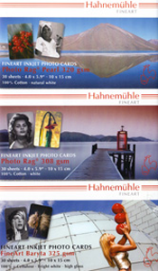 "Hahnemuhle 6 x 4"" Heavyweight Fine Art PHOTOCARDS / POSTCARDS - Presentation Tin"