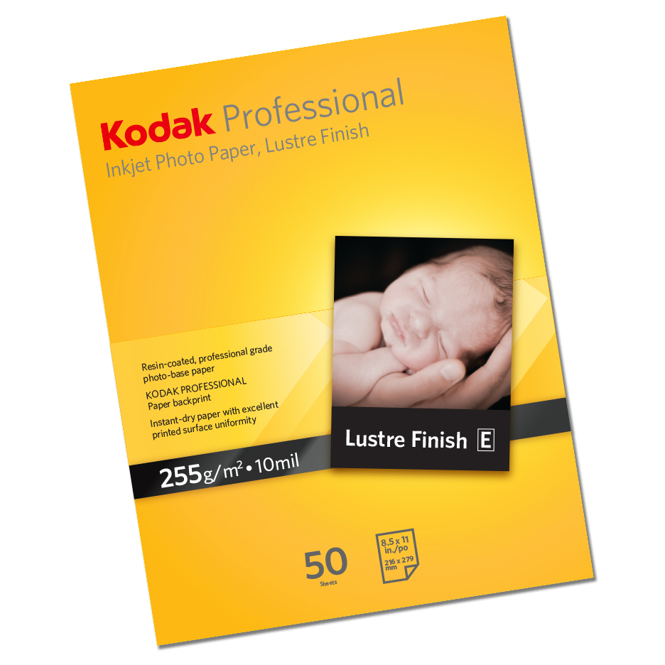 KODAK Inkjet Photo Paper Glossy 255gsm A4 50 sheets