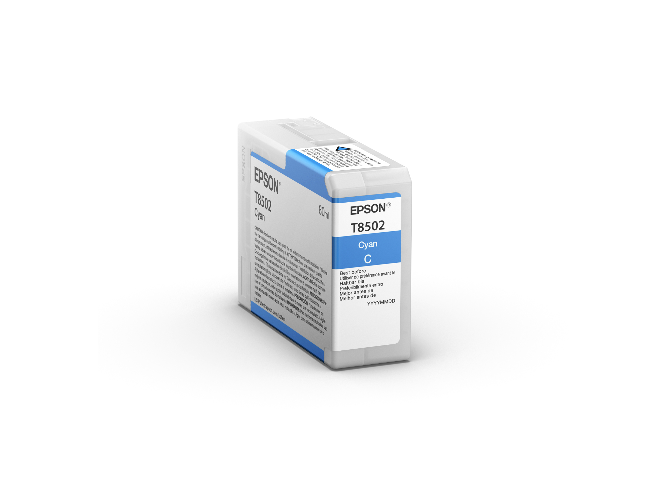Epson SureColor SC-P800 Ultrachrome HD Ink CYAN 80ml