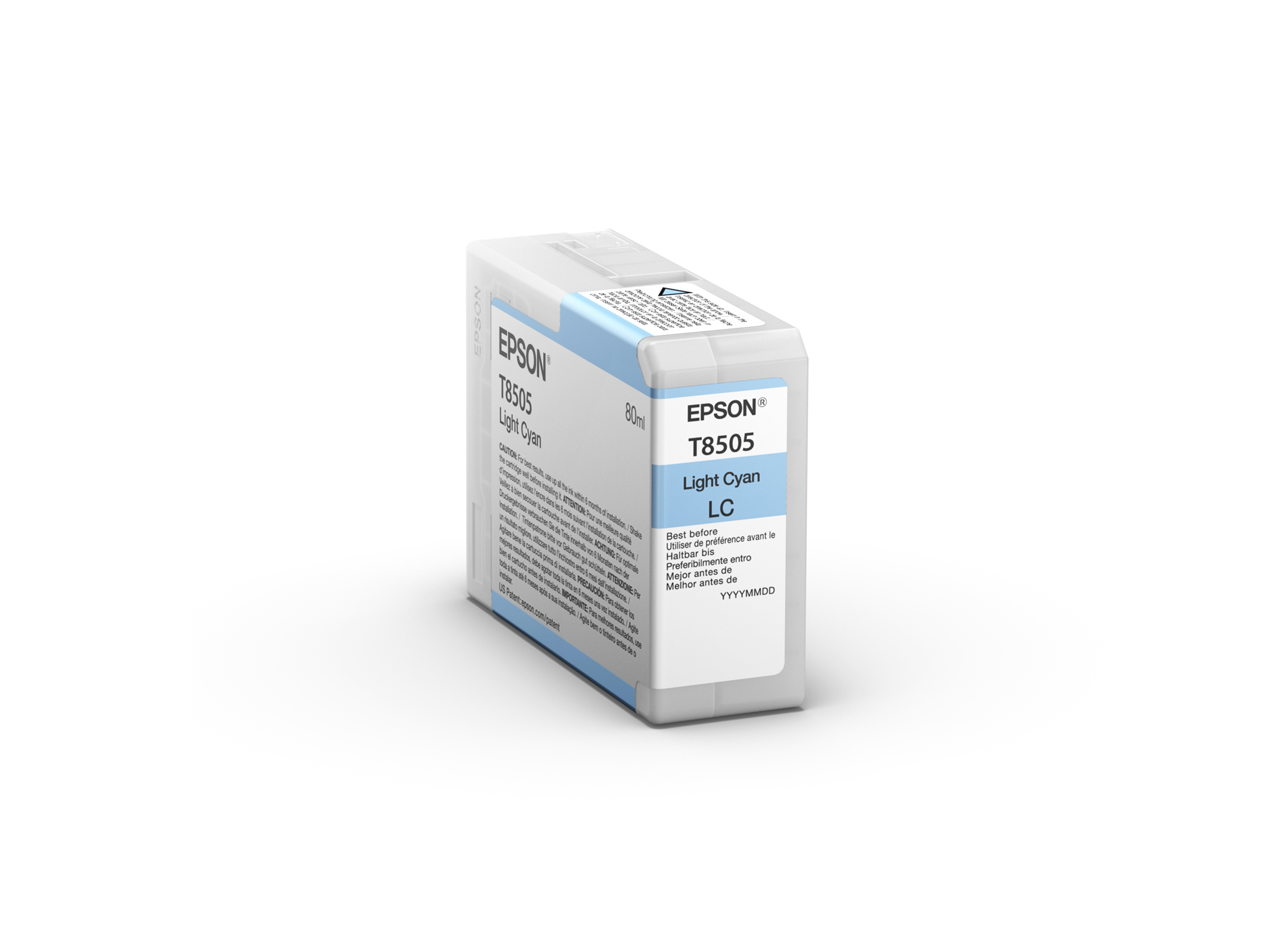 Epson SureColor SC-P800 Ultrachrome HD Ink LIGHT CYAN 80ml