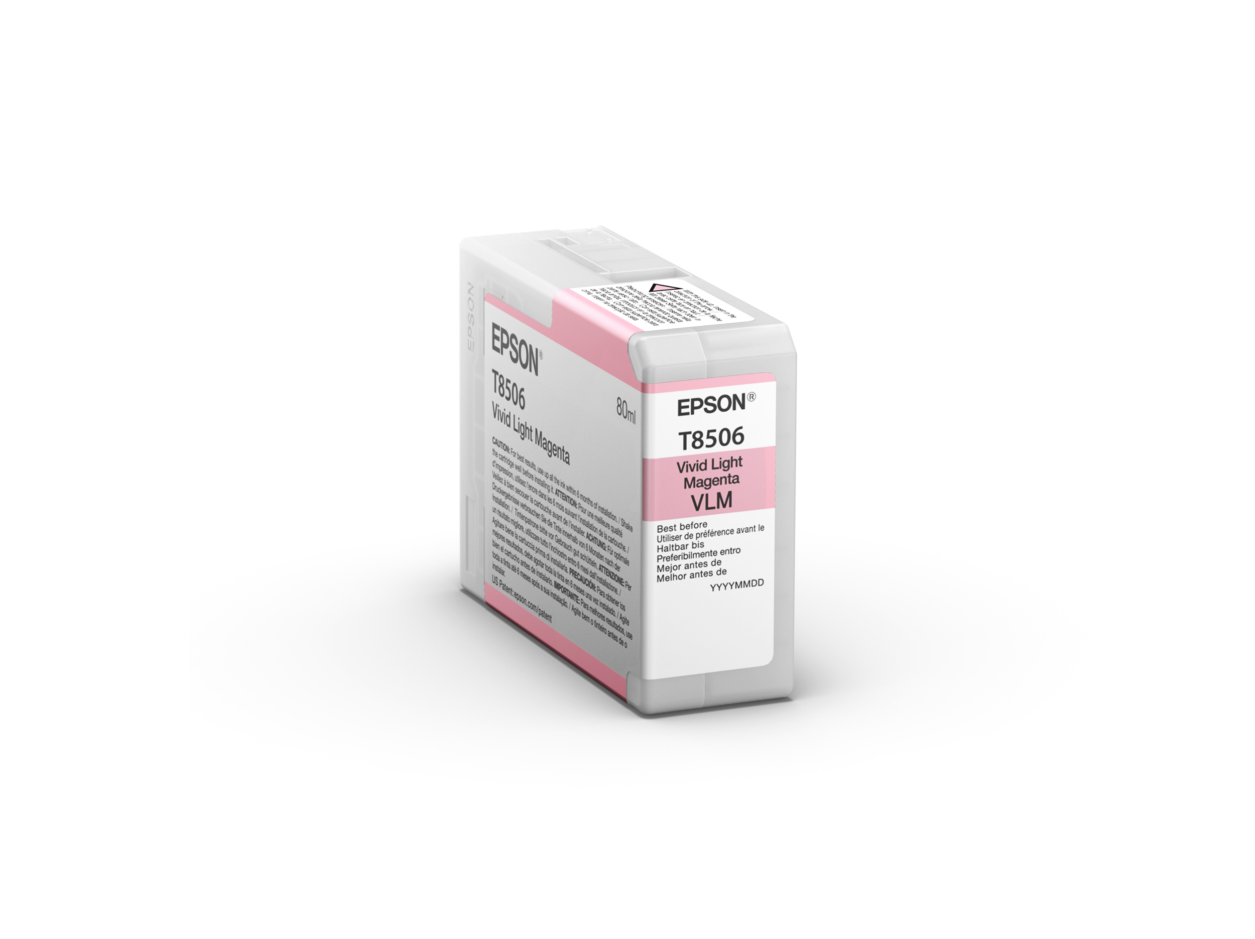Epson SureColor SC-P800 Ultrachrome HD Ink VIVID LIGHT MAGENTA 80ml