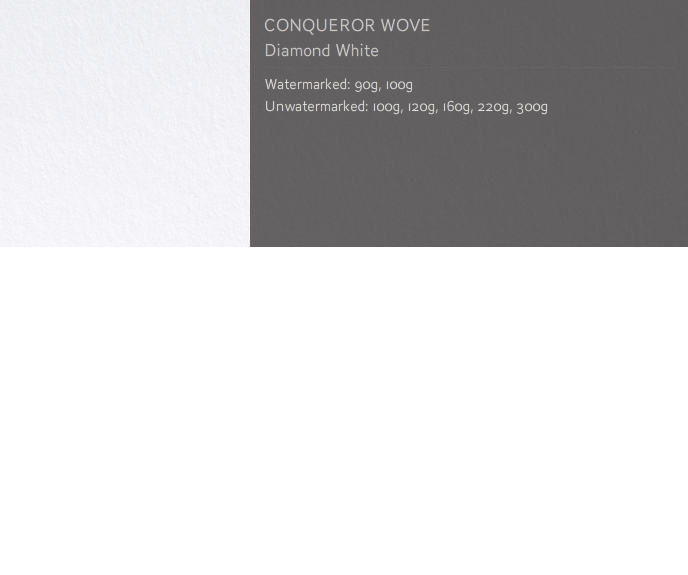 Conqueror Letterhead Paper SMOOTH/SATIN WOVE PAPER 100 gsm A4 500 sheets Diamond White