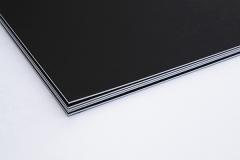 Permajet Black Mountboard 400mm X 500mm pack of 5