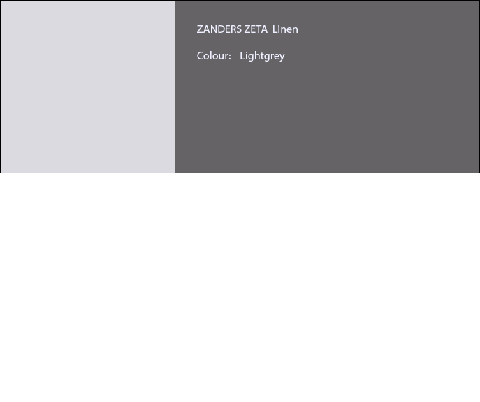 ZANDERS ZETA Office Letterhead Paper LINEN A4 100 gsm 500 sheets Light Grey