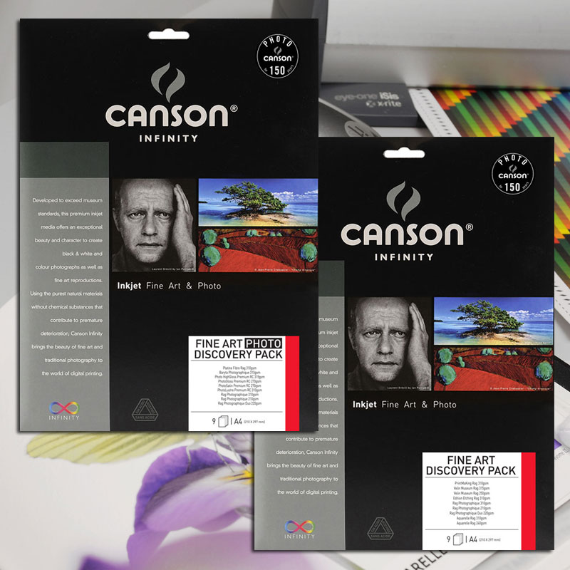 Canson Infinity Photo A4 Discovery Pack 9 sheets