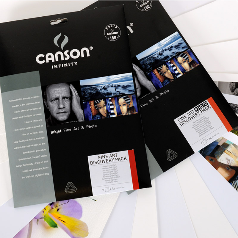 Canson Fine Art Discovery Pack A4 - 14 sheets