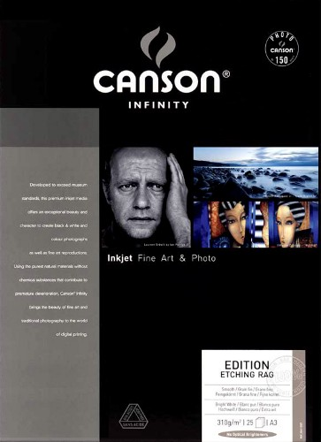 Canson Infinity Etching Rag Fine Art Photo Paper 310gsm
