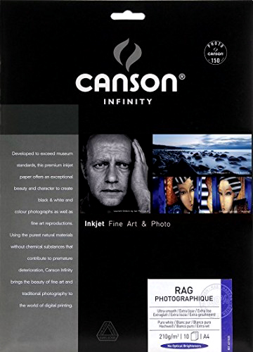 Canson Infinity Rag Photographique 210gsm 25 sheets A2