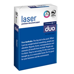 DUO Office Letterhead Copying and Laser Papers DUO LASER