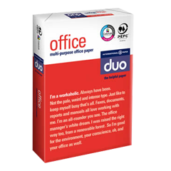 DUO Office Letterhead Copying and Laser Papers DUO OFFICE
