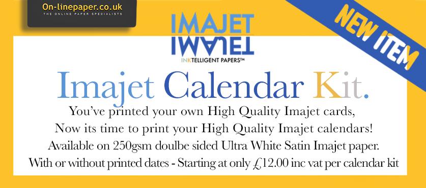 NEW Imajet Calendar Kits