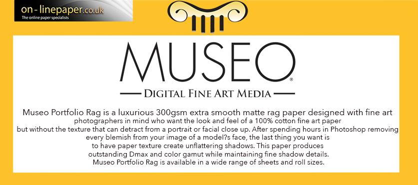 MUSEO Digital FINE ART Inkjet Paper PORTFOLIO RAG