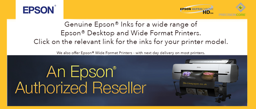 Epson Medium and Wide Format Inks