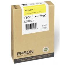 Epson Stylus Pro 4800 220ml Yellow ink cartridge C13T606400