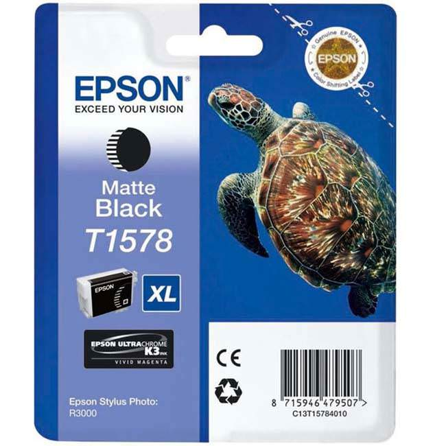 Epson Stylus Photo R3000 UltraChrome K3 VM Ink - 25.9ml - Matte Black